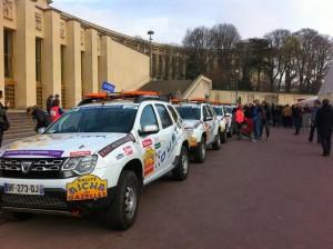 les enjoliveuses, Women@Renault, Rallye Aïcha des Gazelles, Renault, Duster