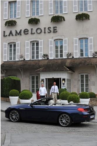 BMW, Relais & Châteaux, BMW i8, BMW i3, partenariat, luxe, hôtels, France, châteaux