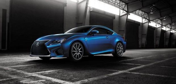 Lexus, RC-F, coupé sportif, pub, voiture sport, voiture luxe