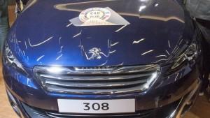 peugeot 308, car of the year, voiture de l'année, 2014, salon de genève