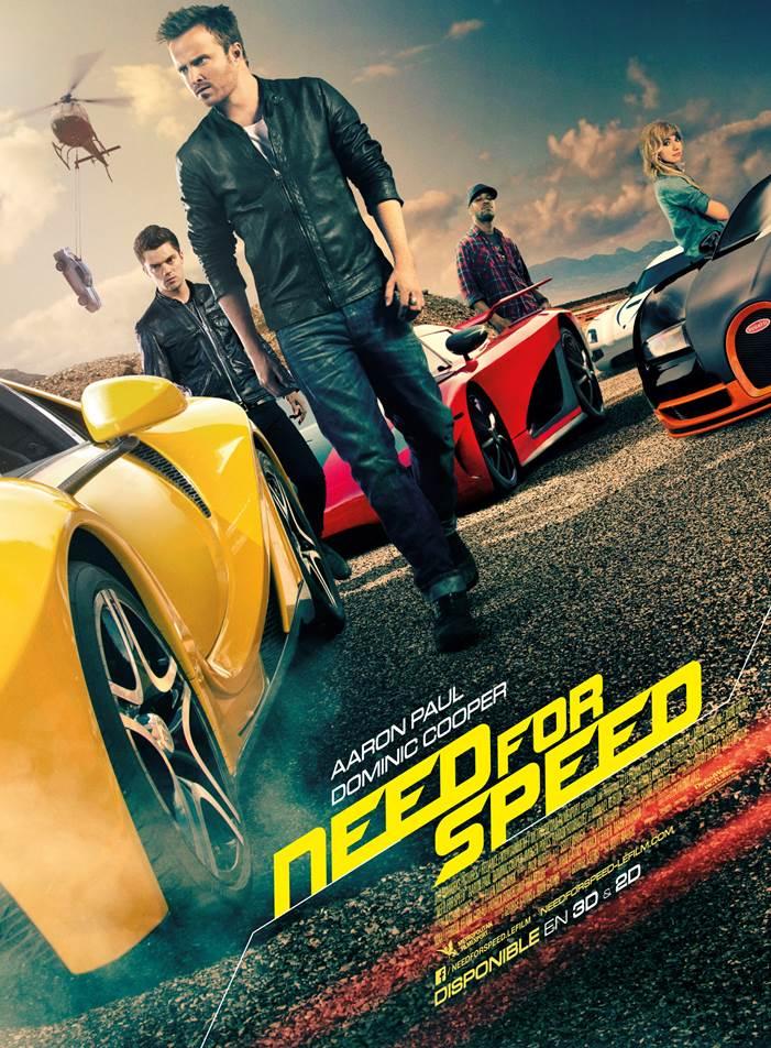 Need for speed, film, cinéma, film d'action, jeu vidéo, scott waugh, ford, mustang