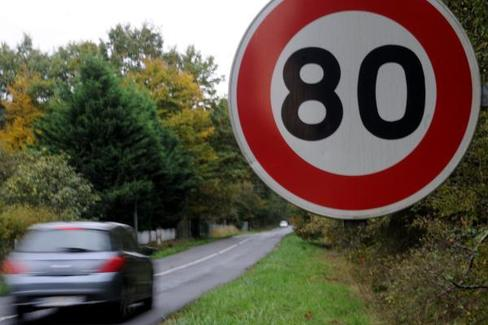 vitesse, abaissement limitation vitesse, réseau secondaire, automobile club association, colère, manifestation, automobiliste