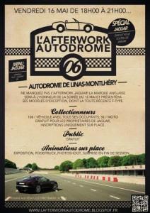 les enjoliveuses, afterwork, autodrome, Linas Monthlery, jaguar