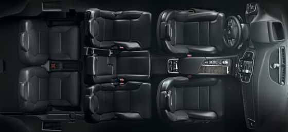 nouveau xc90 un teaser de l 39 int rieur pour le suv 7. Black Bedroom Furniture Sets. Home Design Ideas