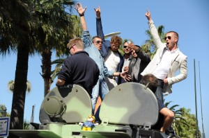 les enjoliveuses, expendables 3, cannes, volkswagen, multivan