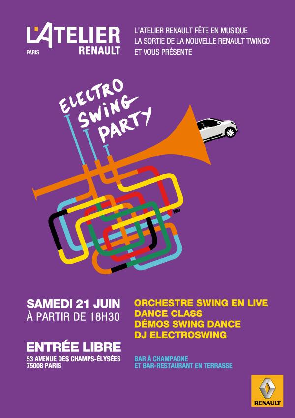 renault, fete de la musique, atelier renault, 21 juin, paris