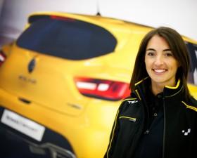 les enjoliveuses, Margot Laffite, pilote, Renault Sport, ambassadrice