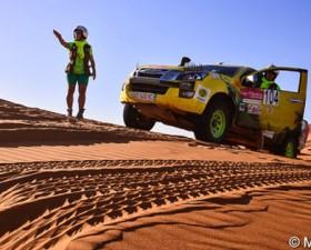 raid cap femina, rallye feminin, auto femme, rallye maroc, désert, atlas, maroc; sport auto femme