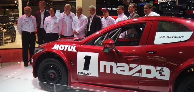 les enjoliveuses, trophée andros, mazda, mazda 3, Jean-Philippe Dayraut
