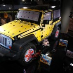 les enjoliveuses, exposition, motorvillage, jeep