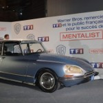 simon baker, the mentalist, citroen DS, TF1, cadeau, voiture de star, série americaine