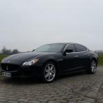 essai, Maserati, Quattroporte, Maserati Winter Tour, Supercar, auto femme
