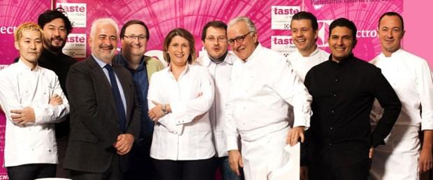 festival taste, festival taste of paris, cuisine, gastronomie, porsche, partenaire, chef, maria sharapova