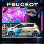 darco, peugeot, peugeot avenue paris, street art, 108, concept car BB1, exposition