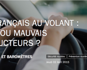 securite routiere, mauvais conducteurs, etude, Axa prevention, telephone au volant, alcool au volant