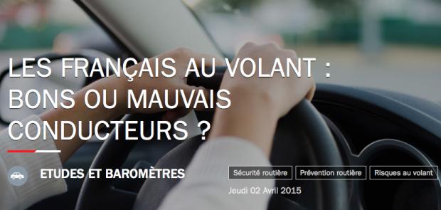 securite routiere, mauvais conducteurs, etude, Axa prevention, telephone au volant, alcool au volant