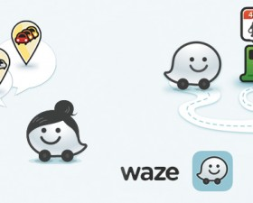waze, application iphone, application auto, iphone, GPS, trafic, pratique