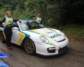 charlotte berton, porsche, 997, GT2, championnat france, rallye, rallye mont blanc