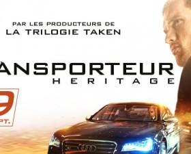 cinema, film action, transporteur heritage, film voiture, audi, S8, camille delamarre
