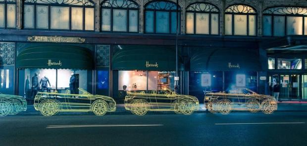 Land Rover, range rover, evoque, cabriolet, teasing, luxe