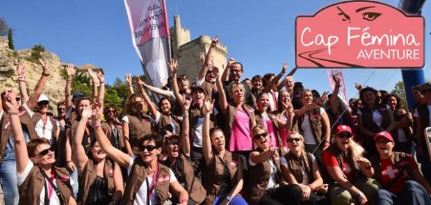 Cap fémina aventure, rallye feminin, maroc, rallye raid, depart, desert marocain