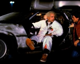 retour vers le futur, delorean, cinema, film, anniversaire, 21 octobre, marty mcfly, doc brown