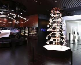 peugeot, fractal, exposition, inspiring christmas, peugeot avenue paris, design, peugeot design lab