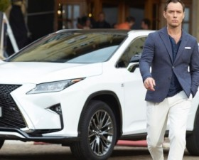 jude law, lexus, the life RX, RX, star sexy, people