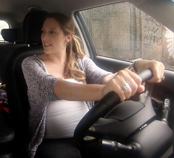 voiture et femmes enceintes, femmes enceintes, voiture, astuces, confort, securite