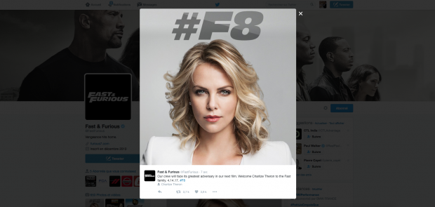 film, cinema, charlize theron, fast and furious 8, star, actrice, casting
