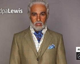 Lewis Hamilton, hamilton grand-pere, pub, allianz, 2066, meet grandpa lewis, pilote, f1