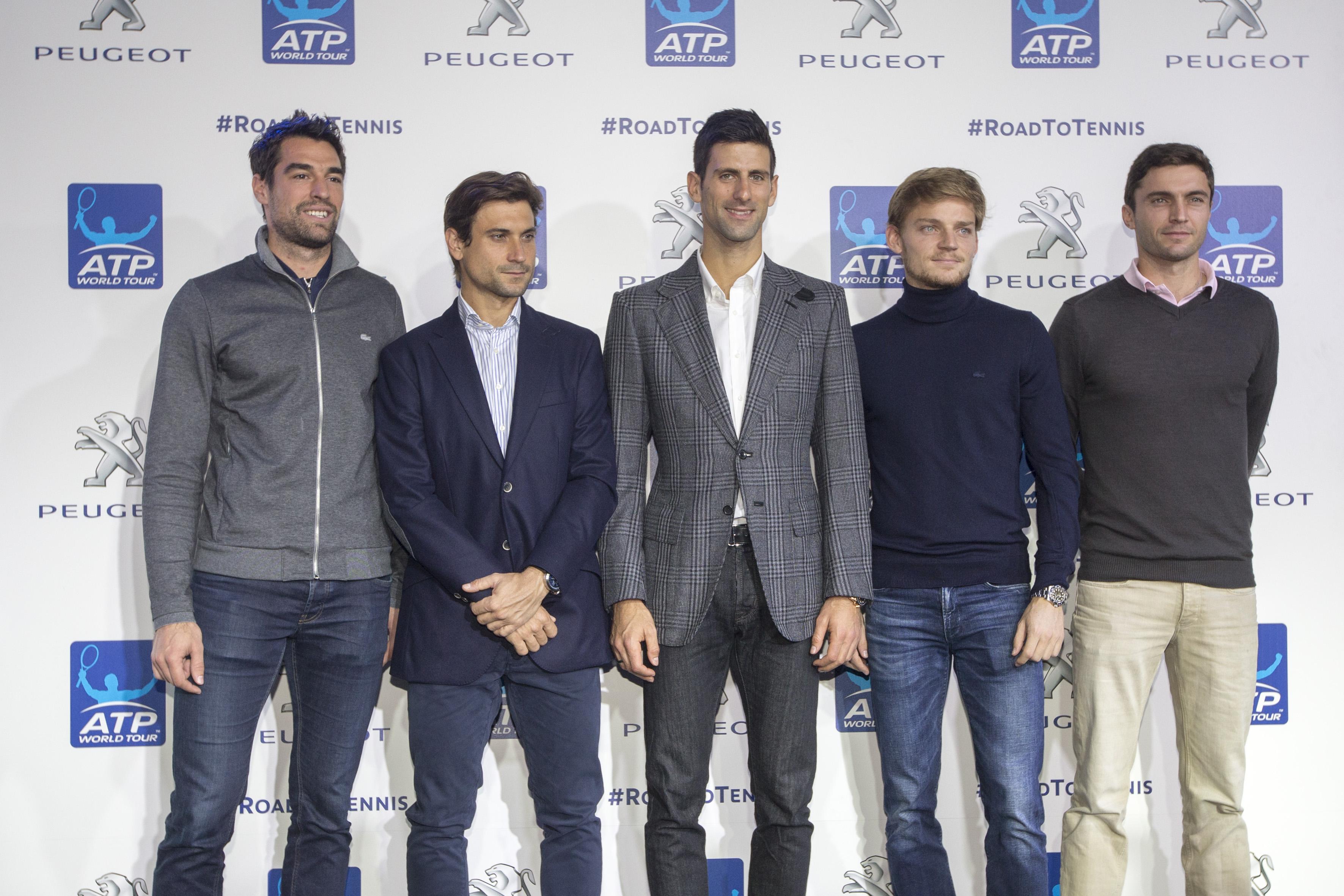 Peugeot, roland garros, tennis, novak djokovic, roland garros 2016, road to roland garros, kuerten, goffin, simon, ferrer, chardy