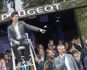 Peugeot, roland garros, tennis, novak djokovic, roland garros 2016, road to roland garros, kuerten