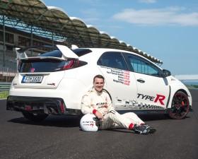 Norbert Michelisz, Hungaroring, spa, circuit, record, honda, civic type R, voiture sportive, honda civic type r