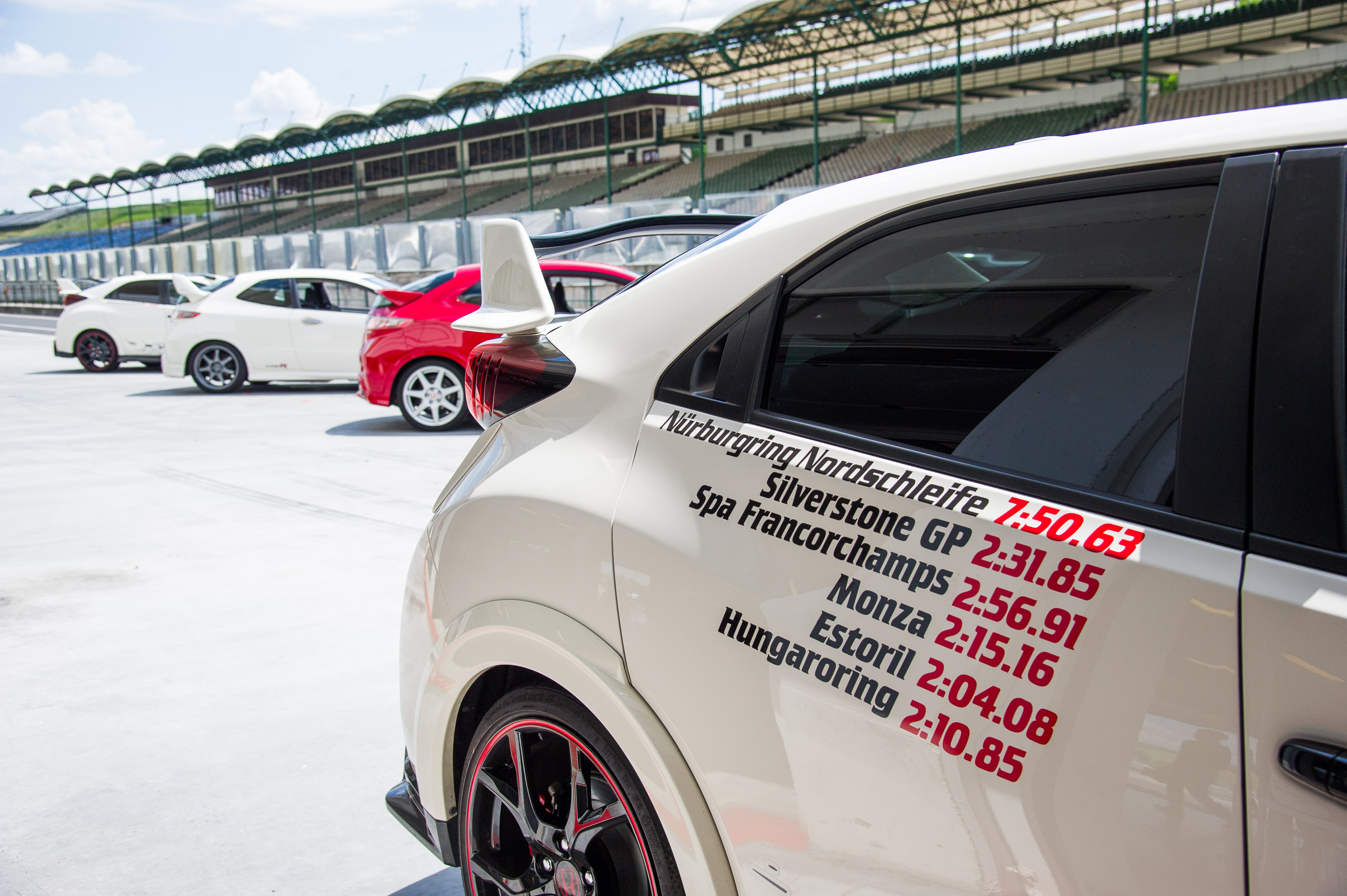 Hungaroring, spa, circuit, record, honda, civic type R, voiture sportive, honda civic type r