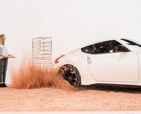 Nissan, 370Z, Nismo, 370Z Nismo, Chris Forsberg, drift, donut, national donut day