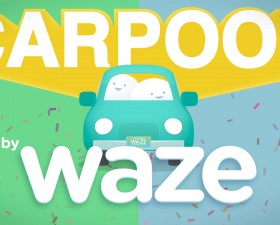 waze, carpool, covoiturage, application auto, uber,