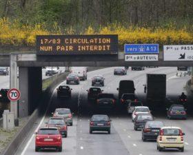 circulation alternee, pollution, mobilite durable, paris, prefecture de police