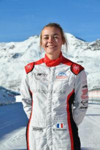 Val Thorens, Bérénice Demoustier, course auto, sport auto, circuit sur glace