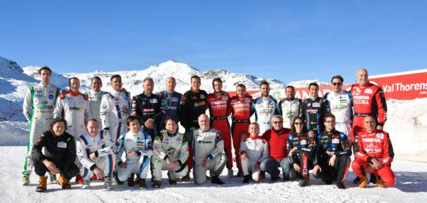 Val Thorens, margot Laffite, course auto, sport auto, circuit sur glace