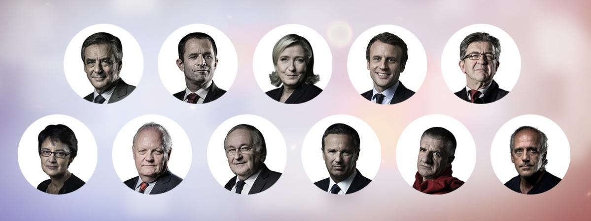 elections presidentielles, presidentielle, presidentielle 2017, candidat, voiture des candidats, fillon, hamon, melenchon