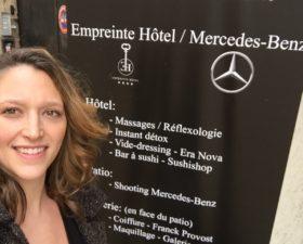 Mercedes, classe E, classe E coupe, journee de la femme, empreinte hotel, orleans, massage, voiture femme