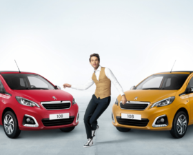 Mika, peugeot, 108, 108 collection, serie speciale, citadine, pub, voiture star