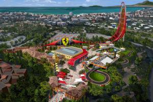 Ferrari, ferrari land, parc d attraction, parc a theme, espagne, PortAventura