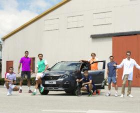 Peugeot, tennis, joueur de tennis, alexander zverev, lucas pouille, jeremy chardy, david goffin, gilles simon, juan martin del potro, nicolas almagro, roland garros, david ferrer, ambassadeurs peugeot