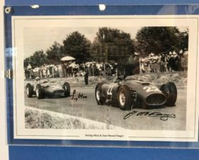 jeu, jeu concours, concours, ebay, Transmobile, 24 heures du mans, Fangio, autographe fangio