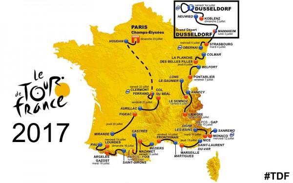 Tour de France, tour de france 2017, skoda, caravane du tour, parcour du tour 2017, Tour 2017