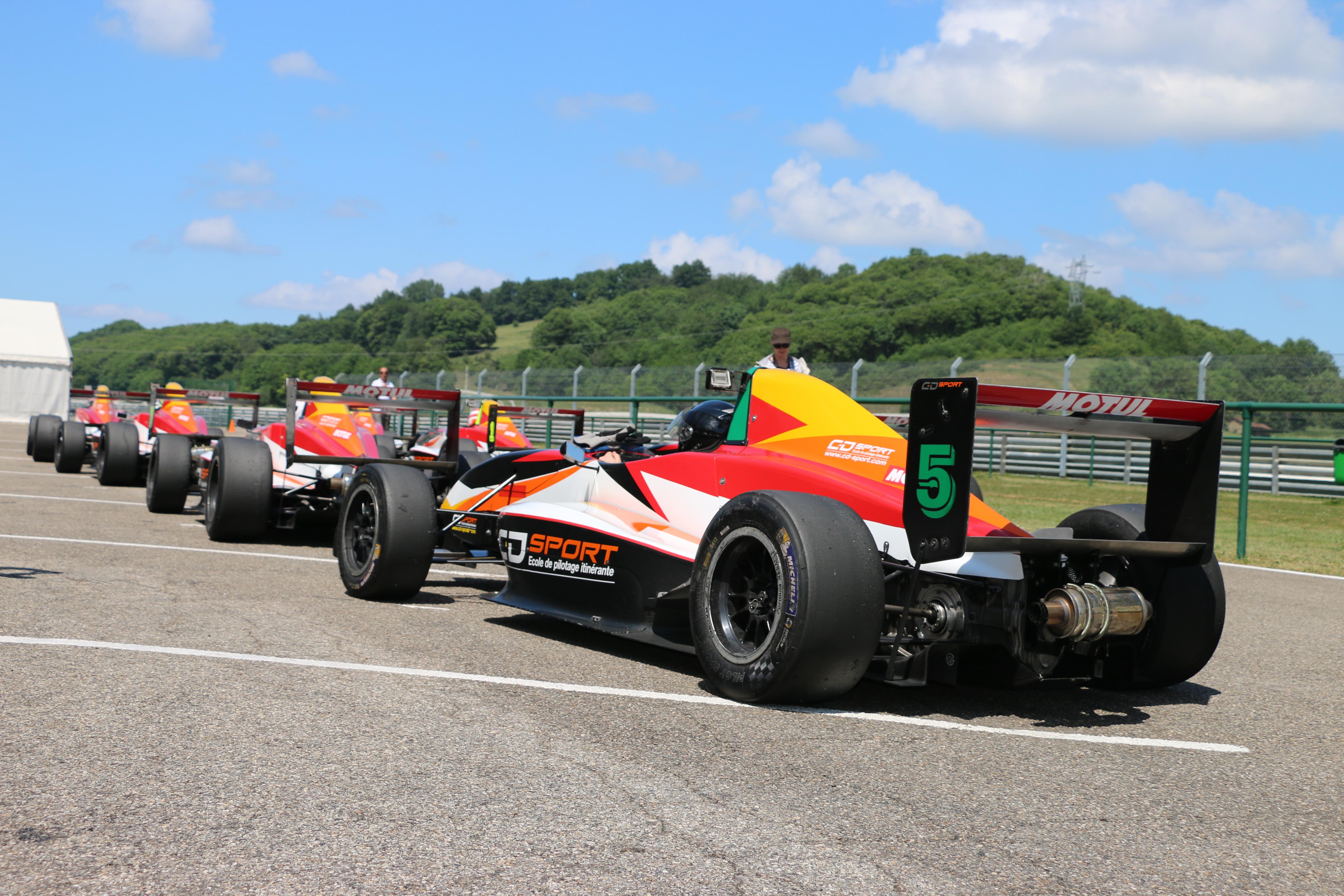 CD Sport, monoplace, formule renault, circuit, stage de pilotage, concours, circuit du laquais