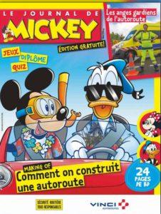 journal de mickey, autoroutes, vacances, route des vacances, croq malin, bon plan