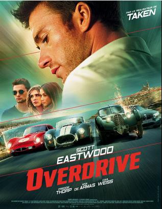 overdrive, cinema, film, film action, courses-poursuites, voitures anciennes